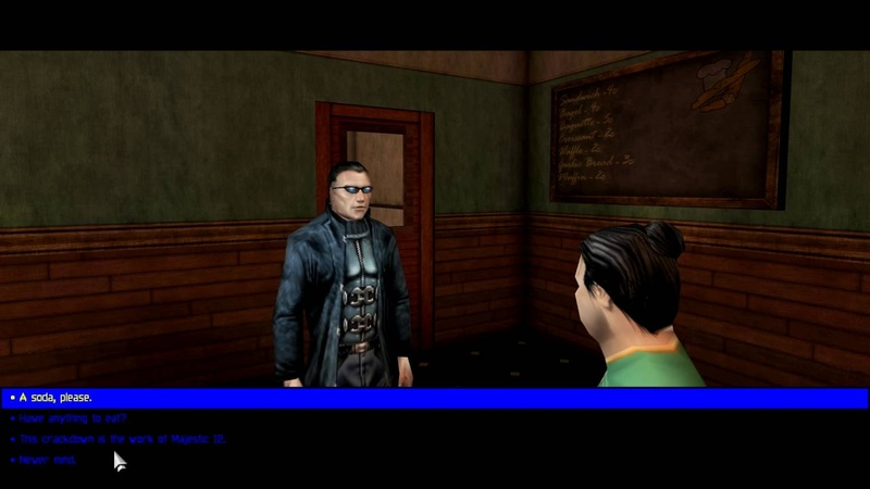 Deus Ex, JC Denton talks about European Union