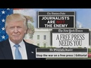 Hundreds of newspapers push back against Trumps fake news attacks