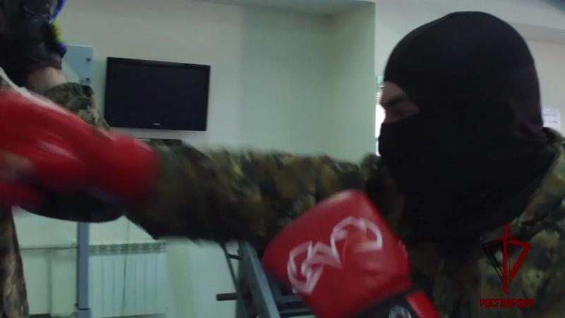 СОБР Эльбрус Тренировка Рукопашный бой