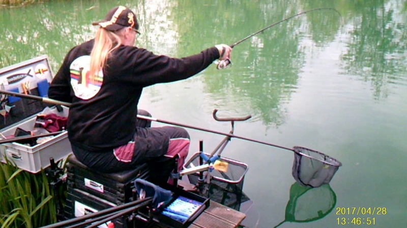 Pellet feeder fishing with the Browning Commercial King F1 Wand