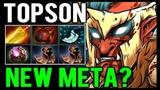 TOPSON Troll Warlord WTF Build - New Meta or Meme Build