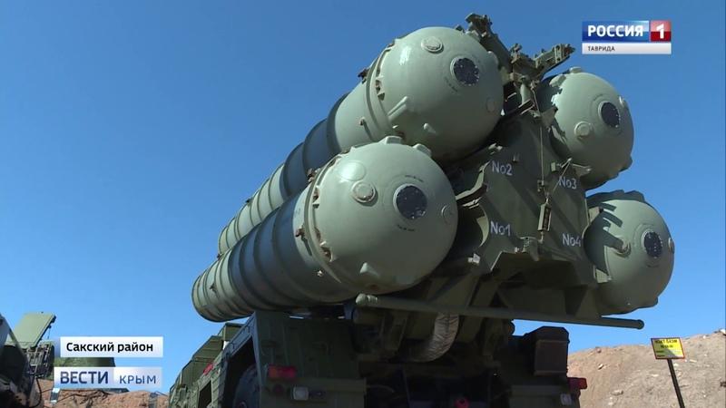 В Крыму на боевое дежурство заступили ракетные комплесы С-400 Триумф