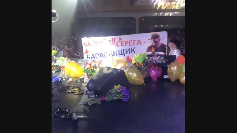 дерзкие барабанопоклонницы С. Соколова🙋🙌. Сурганова и оркестр, Ярославль, 16.12.18.