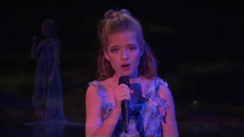 Jackie Evancho Bridge Over Troubled Water One Night For One Drop HD