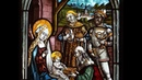 The conservator's eye: a stained glass Adoration of the Magi