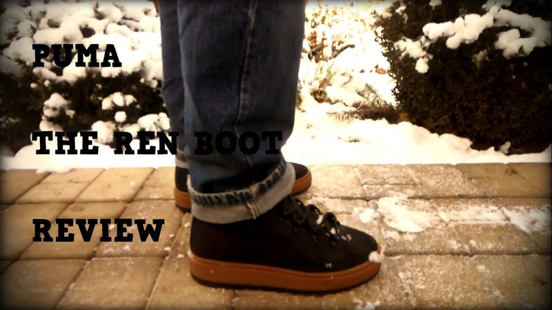 Puma The Ren Boot Кроссовки на зиму 2018-2019 Обзор Review