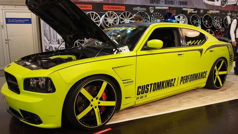 Dodge Charger SRT-8 6.1 HEMI V8 600 PS CustomKingz Tuning at Essen Motorshow - Exterior Walkaround