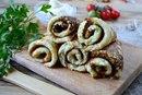 Блинчики из кабачков с сыром и чесноком