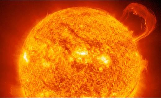NASA: Солнечная вспышка 2 апреля достигнет Земли и повлияет на связь и GPS