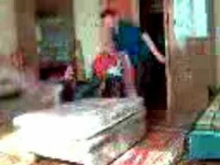 Паркур от парниши в домашних условиях