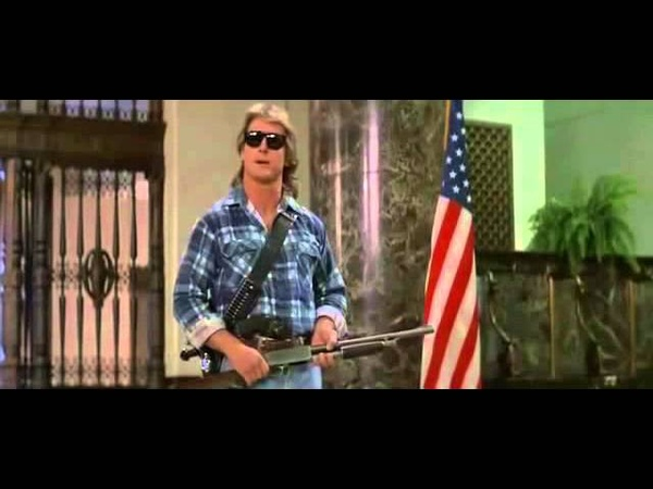 I have come here to chew bubblegum and kick ass...and I'm all out of bubblegum