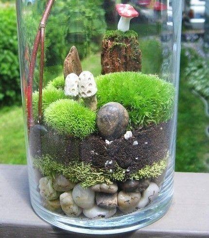 Как сделать мини сад в лампочке