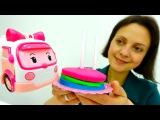 #Машинки Робокар ПОЛИ и Тётя Маша. Детский сад Капуки Кануки. Видео для детей про ...
