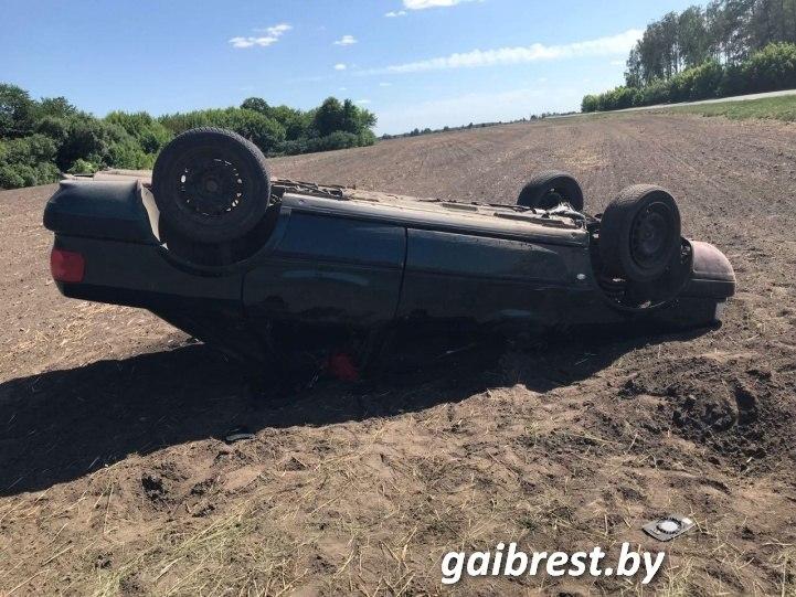 В Ивановском районе в ДТП пострадал водитель лишенный прав