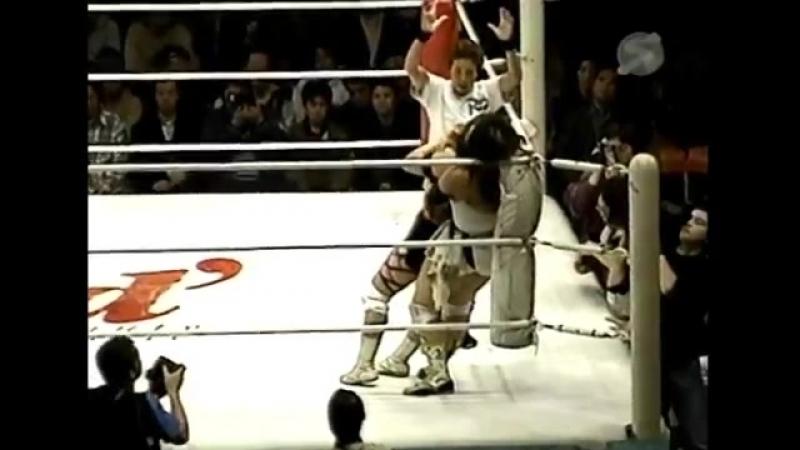 The Bloody Vs Yoshiko Tamura 2 (1.10.2000)