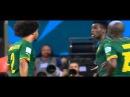 Benoît Assou Ekotto Nervous Reaction on Benjamin Moukandjo Cameroon vs Croatia 2014