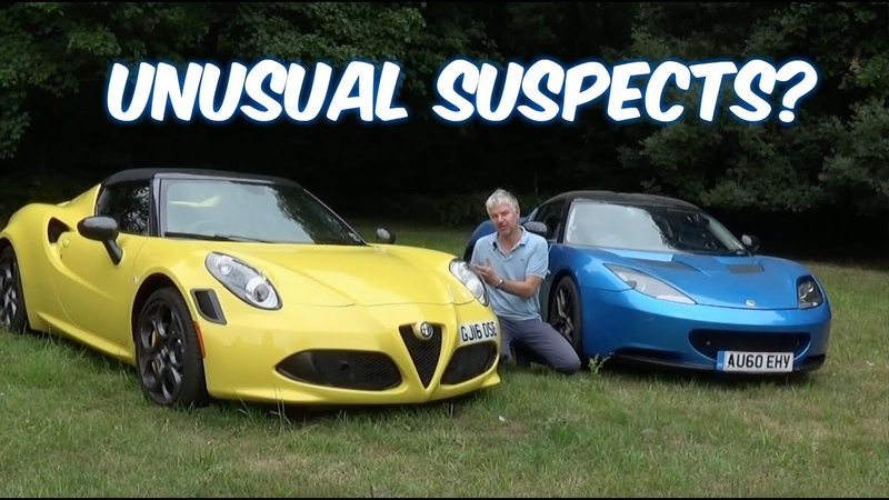 Alfa Romeo 4c Vs Lotus Evora S Why you need to buy at least one of these cars