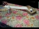 Как крутить трубочки из кассовой ленты