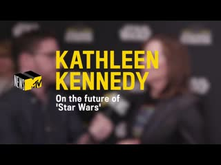 Lucasfilm president Kathleen Kennedy talked to us about the future of StarWars including a Knights of the Old Republic movie and