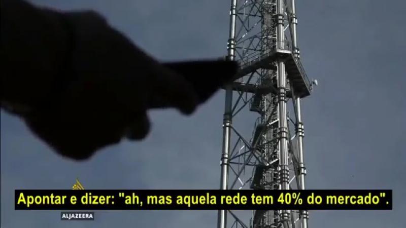"""Rede de TV Al Jazeera faz reportagem que lembra o documentário da BBC """"Além do Cidadão Kane"""" Sobre a Rede Globo"""