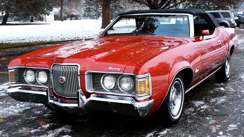 Автомобиль Mercury Cougar XR7 Convertible, 1972 года