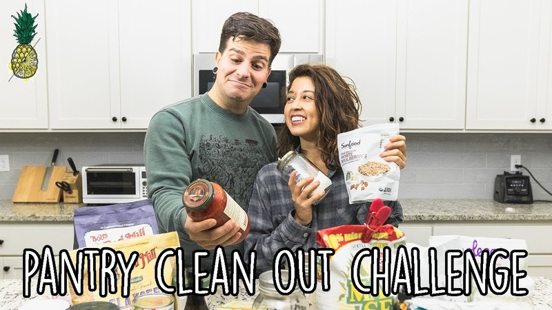 Pantry Clean Out Chopped Challenge (Vegan)