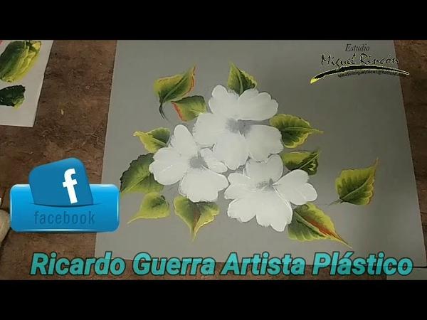 Pinceladas, flores de primavera con Miguel Rincón.