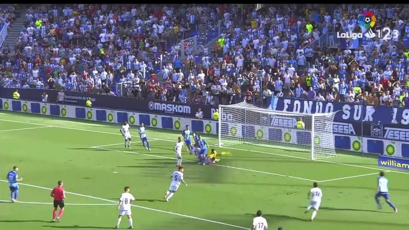 Малага CF - Альбасете Баломпье, 2-1, Сегунда 2018-2019, 9 тур
