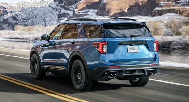 Новый кроссовер Ford Explorer обзавелся версиями ST и Hybrid