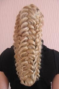 Галерея.  Фотография 6 из 13. плетение косичек.  Метки.  Код для вставки на сайт, на форум или блог.