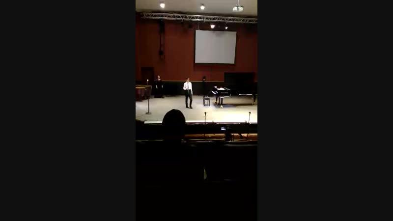 Гришин концерт за полугодие