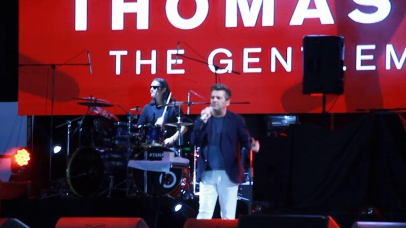 Легендарный солист «Modern Talking» Томас Андрес в Одессе