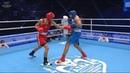AIBA Youth 2016: Semifinal (75kg) NURMAGANBET Bek (KAZ) vs AGIRMAN Vezir (GER)