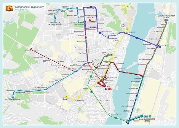 Новые варианты маршрутов