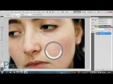 PhotoShop Tutorial In Pashto - Easy Face Cleaning\pjh