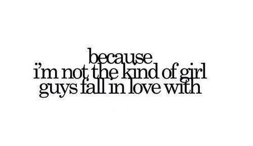 — Потому что я не из тех девочек, в которых влюбляются мальчики.