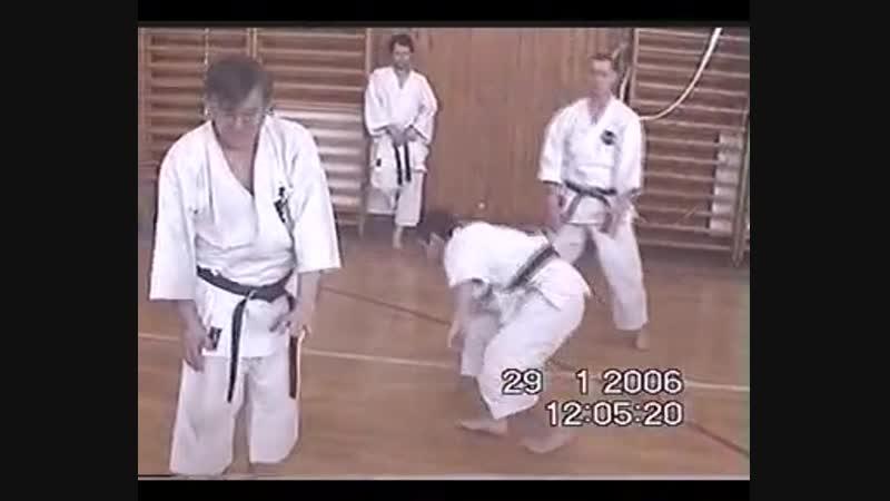 Karate FUDOKAN-PROF. DR ILIJA JORGA i Radoš Savić