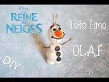 ❄Tuto Fimo : Olaf (La reine des neiges) ❄