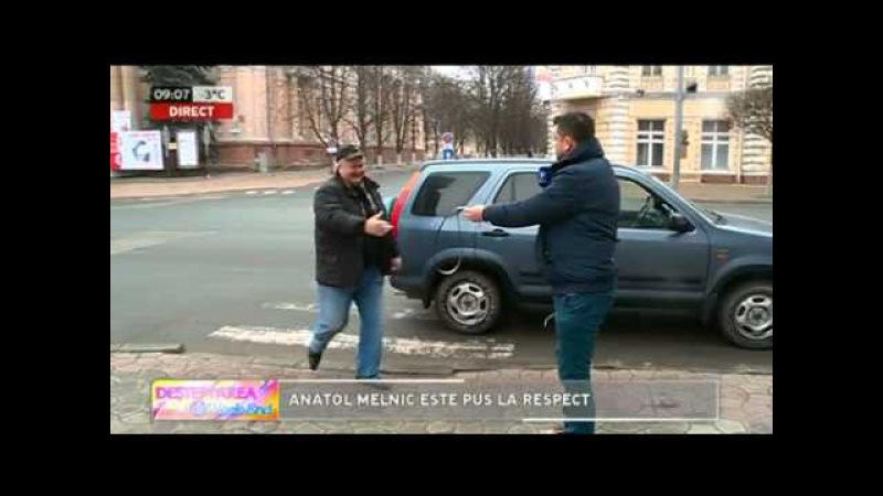 Anatol Melnic primește bătaie cu cureaua. (Provocarea de weekend)