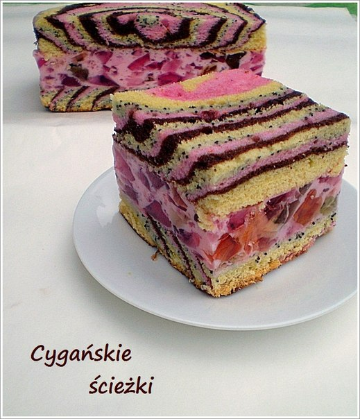 торт циганська дорога рецепт