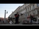 Железный Ирокез - В калейдоскопе  Питер. Владимирская. Уличные музыканты.