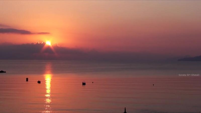 Дудук -- Море. Восход Солнца