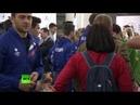 Возвращение юношеской олимпийской сборной из Буэнос-Айреса — LIVE
