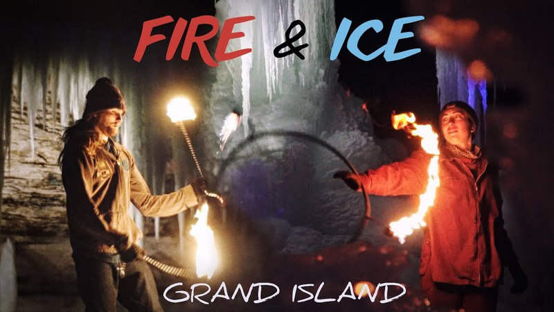 Fire Ice : Hoop x Poi | Grand Island, MI