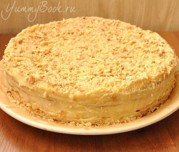 Торт наполеон приготовления и фото