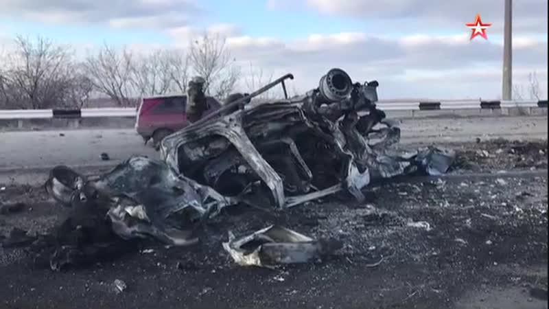 В ДНР в результате подрыва автомобиля на КПП погиб мирный житель