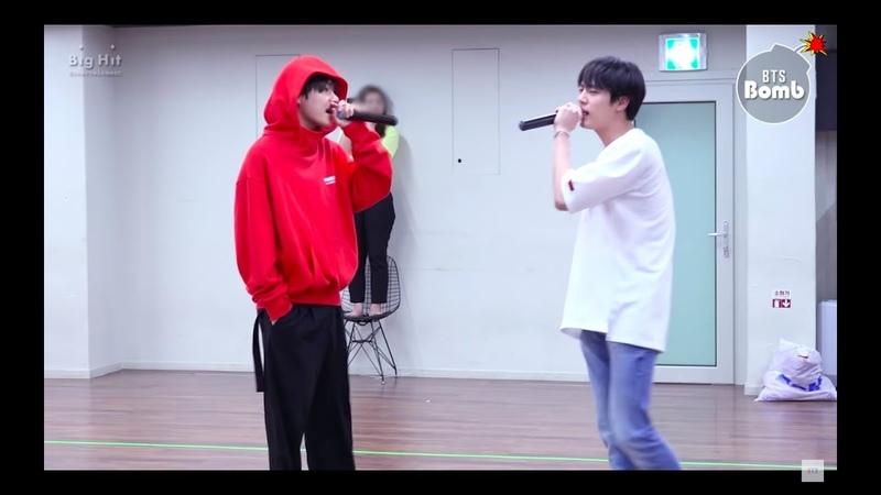 [ENG] [BANGTAN BOMB] BTS PROM PARTY UNIT STAGE BEHIND 죽어도 너야 BTS (방탄소년단)