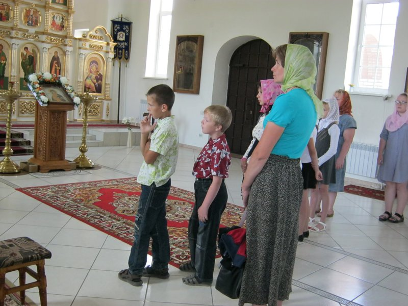 """Дети из """"Волжанки"""" посетили монастырь 2"""