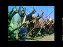 Sir Lancelot commands Arthur's troops against Sir Mordred, Camlann, ca AD 550