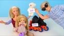 На Ролики у Мамы не хватило Денег Мультик Барби Куклы Игрушки Для девочек IkuklaTV Школа